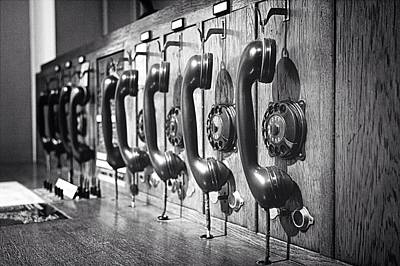 Fashion Photograph - Old-fashioned Wooden Telephone by Anja Heid / Eyeem