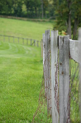 Photograph - Old Fence by Heidi Poulin