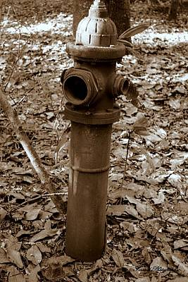 Photograph - Old Fire Hydrant  by Debra Forand