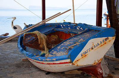 Photograph - Old Fishing Boat by Brenda Kean