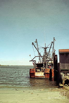 Photograph - Old Fishing Boat by Colleen Kammerer