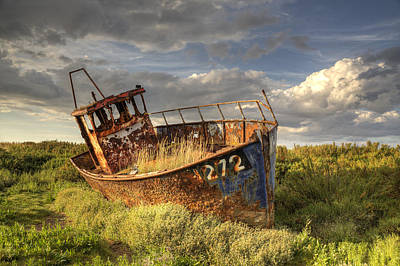 Photograph - Old Fishing Boat by Ian Merton