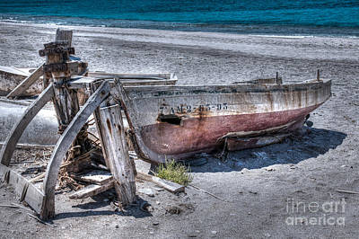 Photograph - Old Fishing Boat by Rod Jones