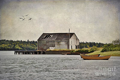 Photograph - Old Fishing Days by Karin Pinkham