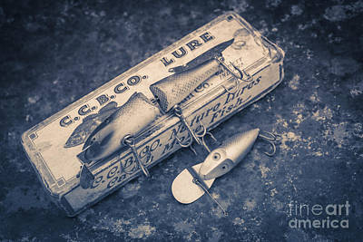 Old Fishing Lures Art Print
