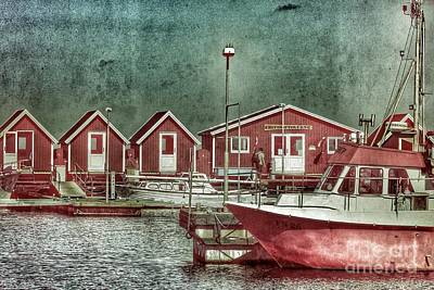 Nikki Vig Royalty-Free and Rights-Managed Images - Old Fishing Village by Nikki Vig