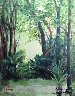 Painting - Old Florida 5 by Mary Lynne Powers