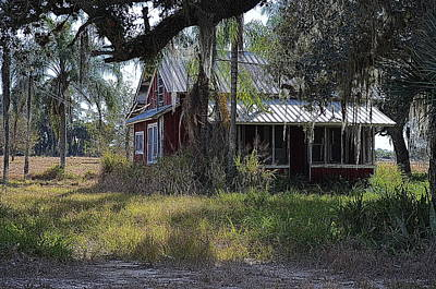 Photograph - Old Florida House by Ronald T Williams