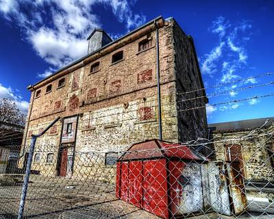 Photograph - Old Flour Mill by Wayne Sherriff