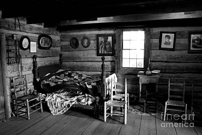 Cabin Interiors Photograph - Old Folks At Home by Paul W Faust -  Impressions of Light