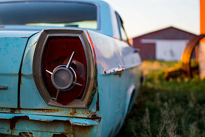 Photograph - Old Ford 2 by Nathan Hillis