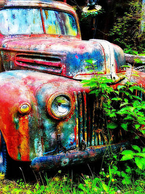 Old Ford #2 Art Print by Sandy MacGowan
