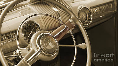 Photograph - Old Ford Dashboard by Chris Fraser