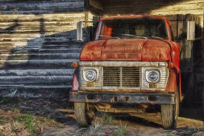 Photograph - Old Ford by Erika Fawcett