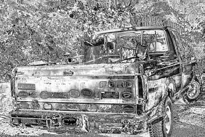 Photograph - Old Ford by Sharon McLain