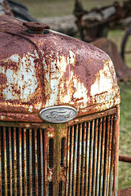 Photograph - Old Ford Tractor by Lynn Jordan