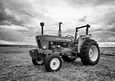 Photograph - Old Ford Tractor by Steve McKinzie