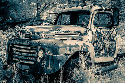 Old Ford Truck Original by Nicole Couture-Lord