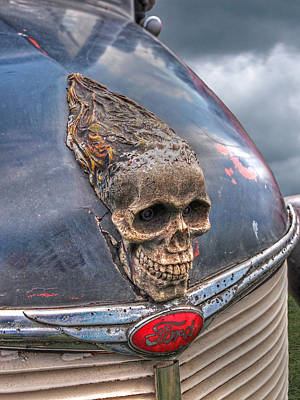 Photograph - Old Fords Never Die - Vertical by Gill Billington