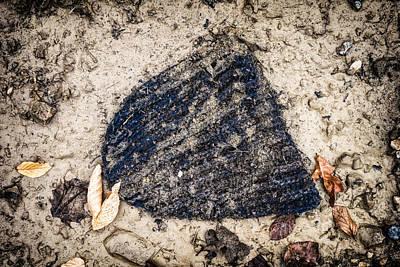 Old Forgotten Wool Cap Lying On The Ground Art Print