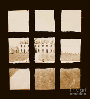 French And Indian War Photograph - Old Fort Niagara French Castle Through A Window by Rose Santuci-Sofranko