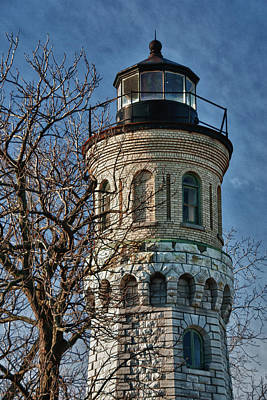 Photograph - Old Fort Niagara Lighthouse 4484 by Guy Whiteley