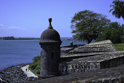 Photograph - Old Fort Watchtower by Bonnie Leigh Delar