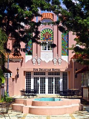 Photograph - Old Fox Delicias Theater by Ricardo J Ruiz de Porras