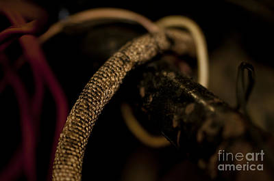 Photograph - Old Frayed Wires by Wilma  Birdwell