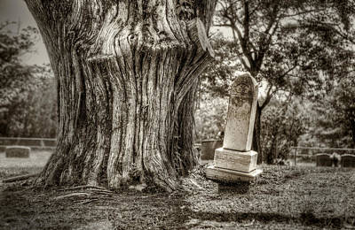 Headstone Photograph - Old Friends by Scott Norris