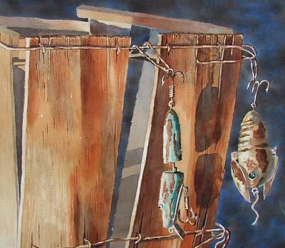 Painting - Old Friends by Tony Caviston
