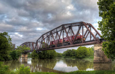 Photograph - Old Frisco Bridge by James Barber