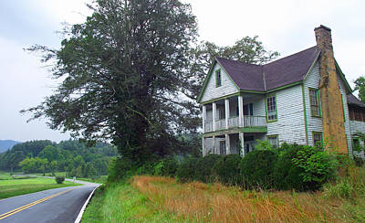 Photograph - Old Galloway House In Rosman Nc by Duane McCullough