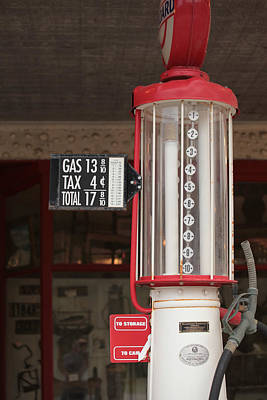 Photograph - Old Gas Pump by Harold Rau