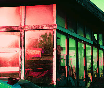 Photograph - Old Gas Station 3 by Laurie Tsemak