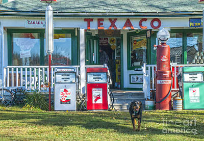 Photograph - Old Gas Station  by Alana Ranney