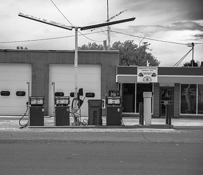 Photograph - Old Gas Station by Kunal Mehra