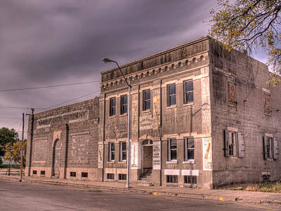 Photograph - Old General Store by HW Kateley