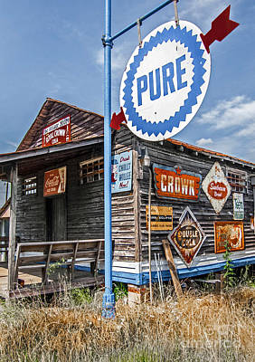 Old General Store Art Print by Marion Johnson