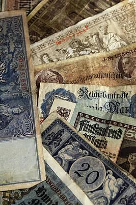 Old German Money Print by Falko Follert
