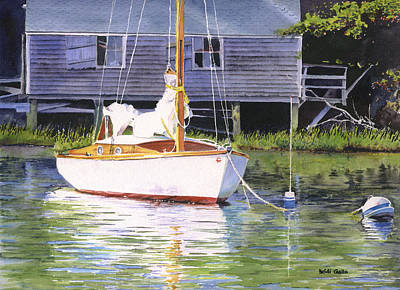 Cape Cod Painting - Old Ghost by Heidi Gallo