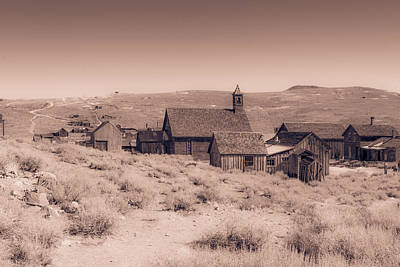 Photograph - Old Ghost Town by Susan Leonard