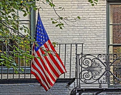 Photograph - Old Glory 001 by Jeff Stallard