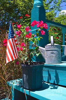 Photograph - Old Glory by AnnaJo Vahle