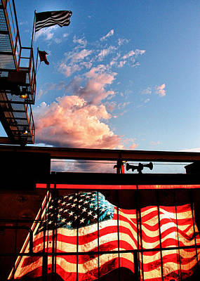Photograph - Old Glory by Bill Kesler