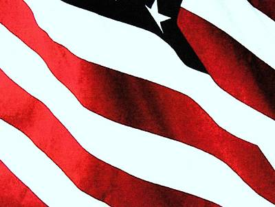 Old Glory Art Print by Dan Twyman