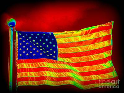 Photograph - Old Glory by Ed Weidman
