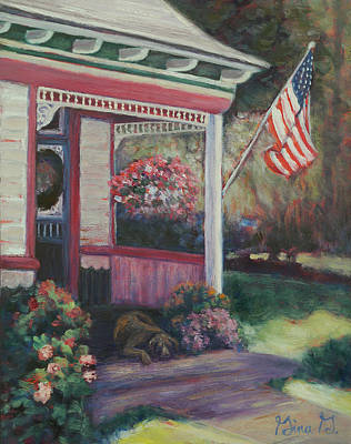 Painting - Old Glory by Gina Grundemann