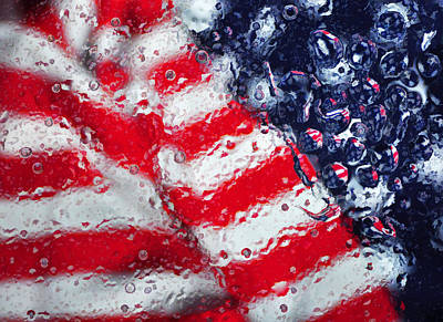 Photograph - Old Glory Impression by Jack Daulton