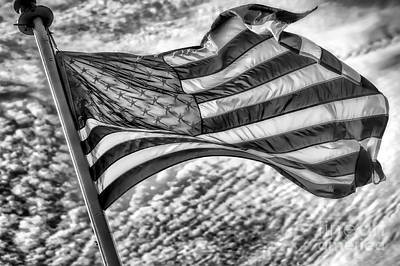Old Glory Art Print by Jack Torcello
